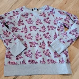 The north face TNF floral sweatshirt